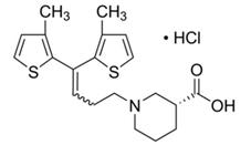 Tiagabine hydrochloride